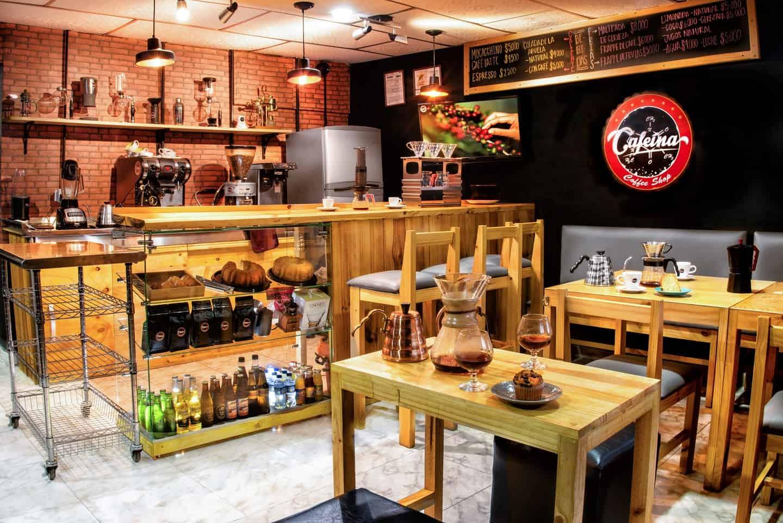 Cafeína Coffee Shop