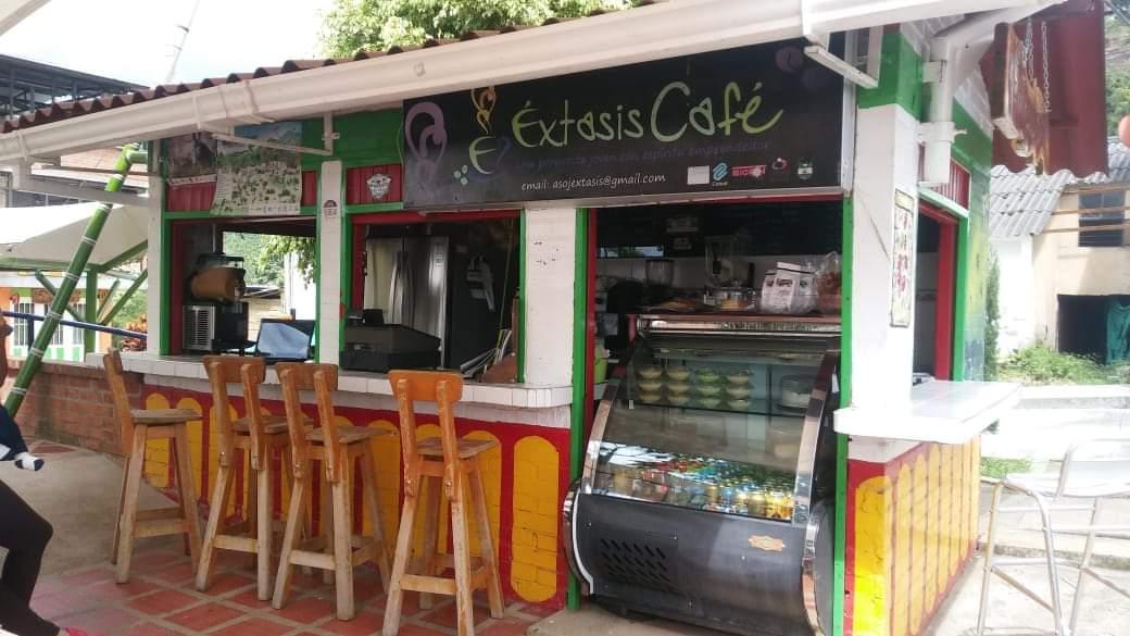 Tienda de Café Espresso Éxtasis